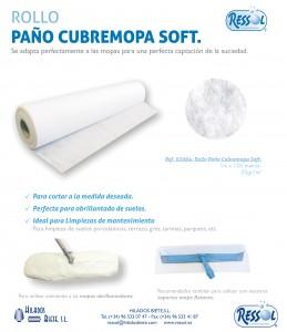 rollo paño cubremopa soft