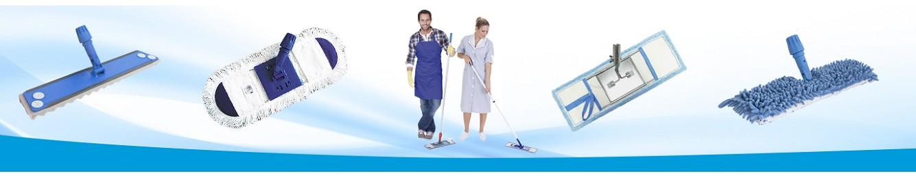 Mopas abrillantadoras  para higiene industrial