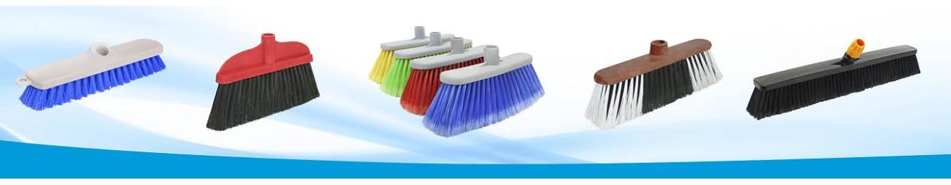 Escobas y cepillos técnicos para limpieza Industrial