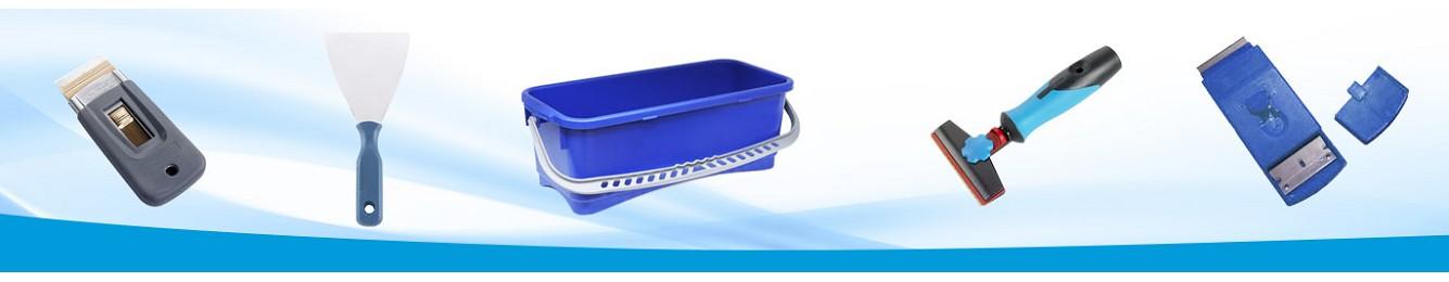 rasquetas y complementos para limpieza profesional