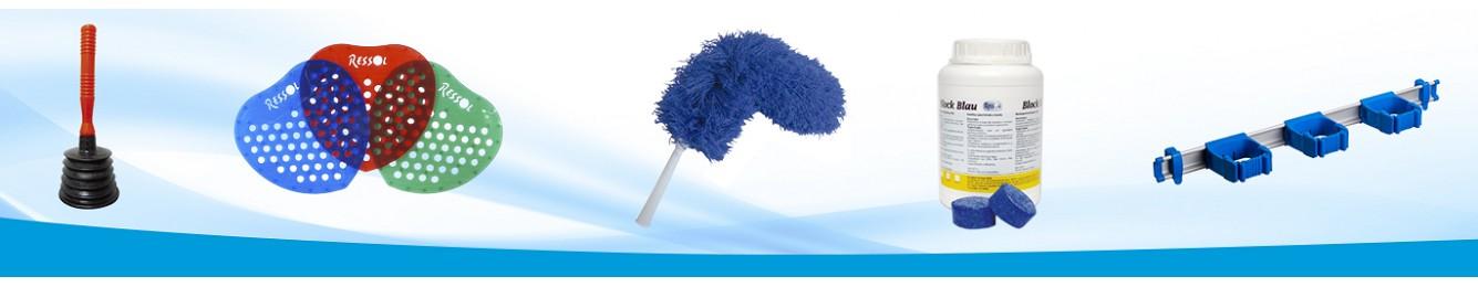 Multicolgadores de útiles de limpieza