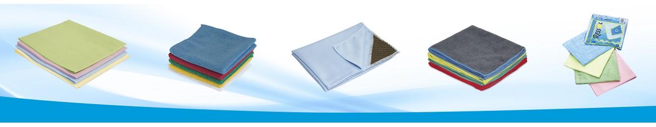 Bayetas de microfibra para empresas de limpieza - Hilados Biete