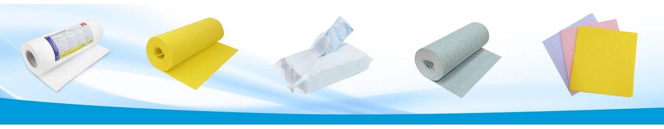 Bayetas  y rollos de bayetas sintéticas - Hilados Biete