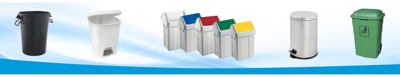 Papeleras y contenedores para uso industrial y empresa