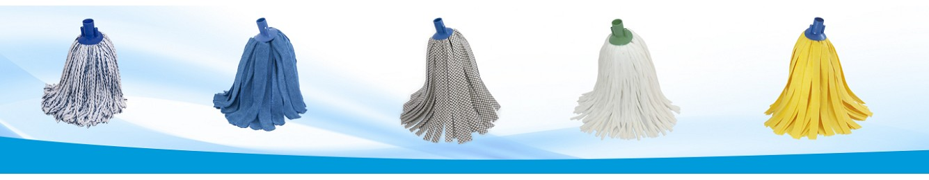 Fregonas microfibra e hilos para uso profesional