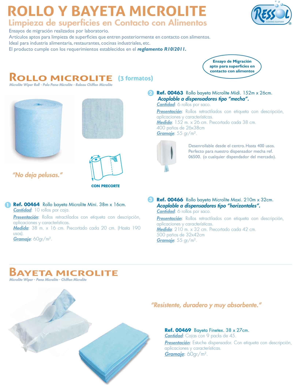 rollo bayeta microlite