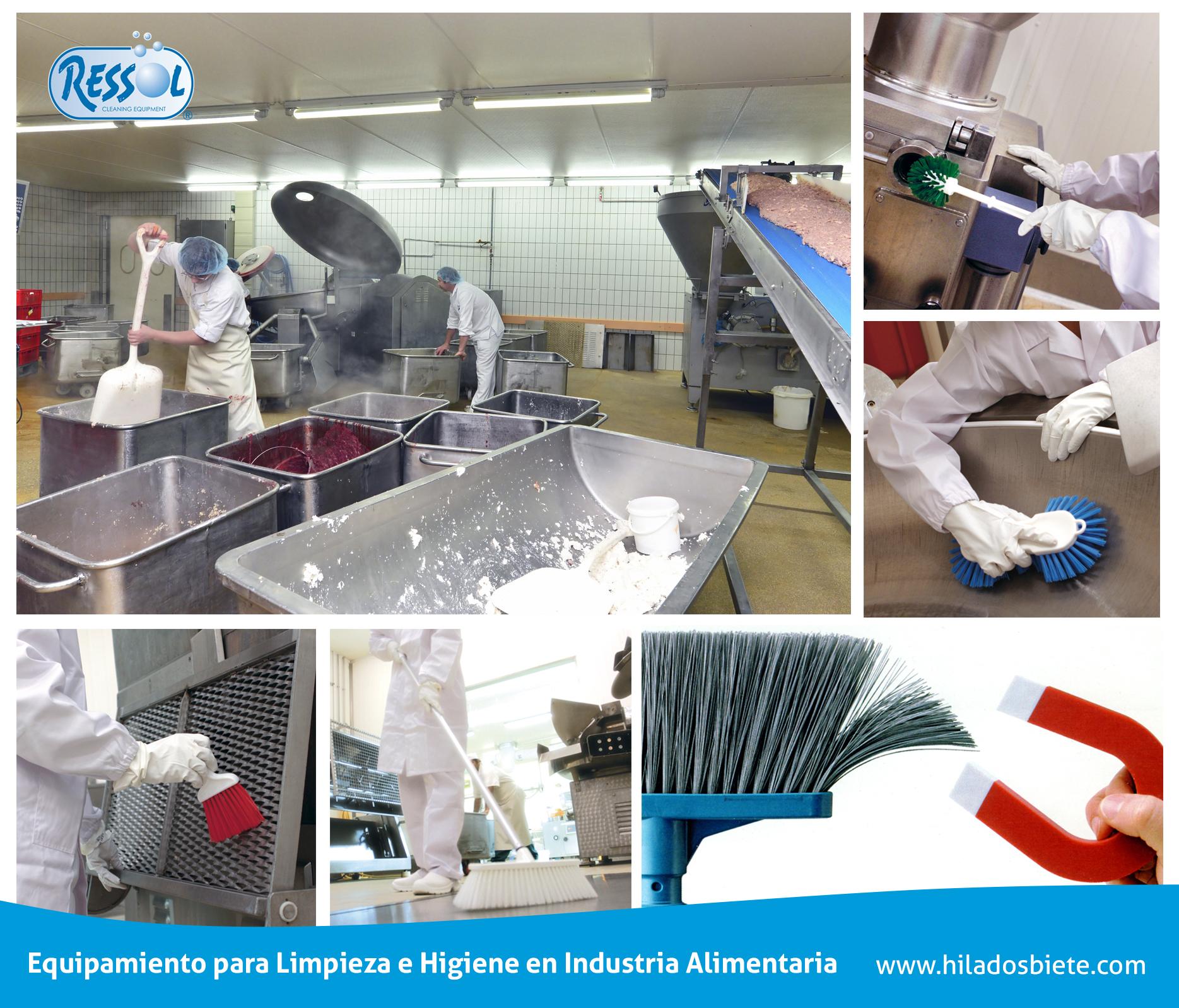 B sicos de limpieza para la cumplir con la higiene de la for Manual de limpieza y desinfeccion en industria alimentaria