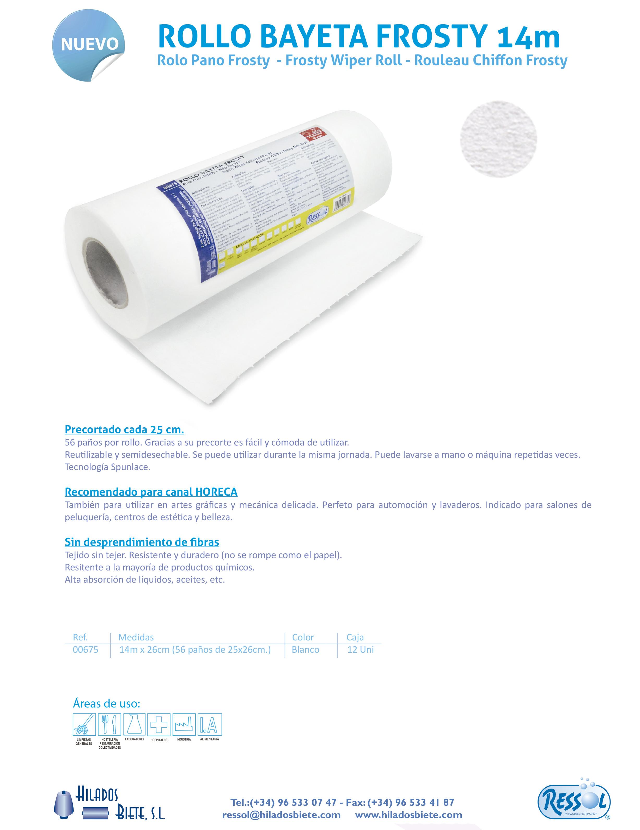rollo bayeta frosty tejidosintejer