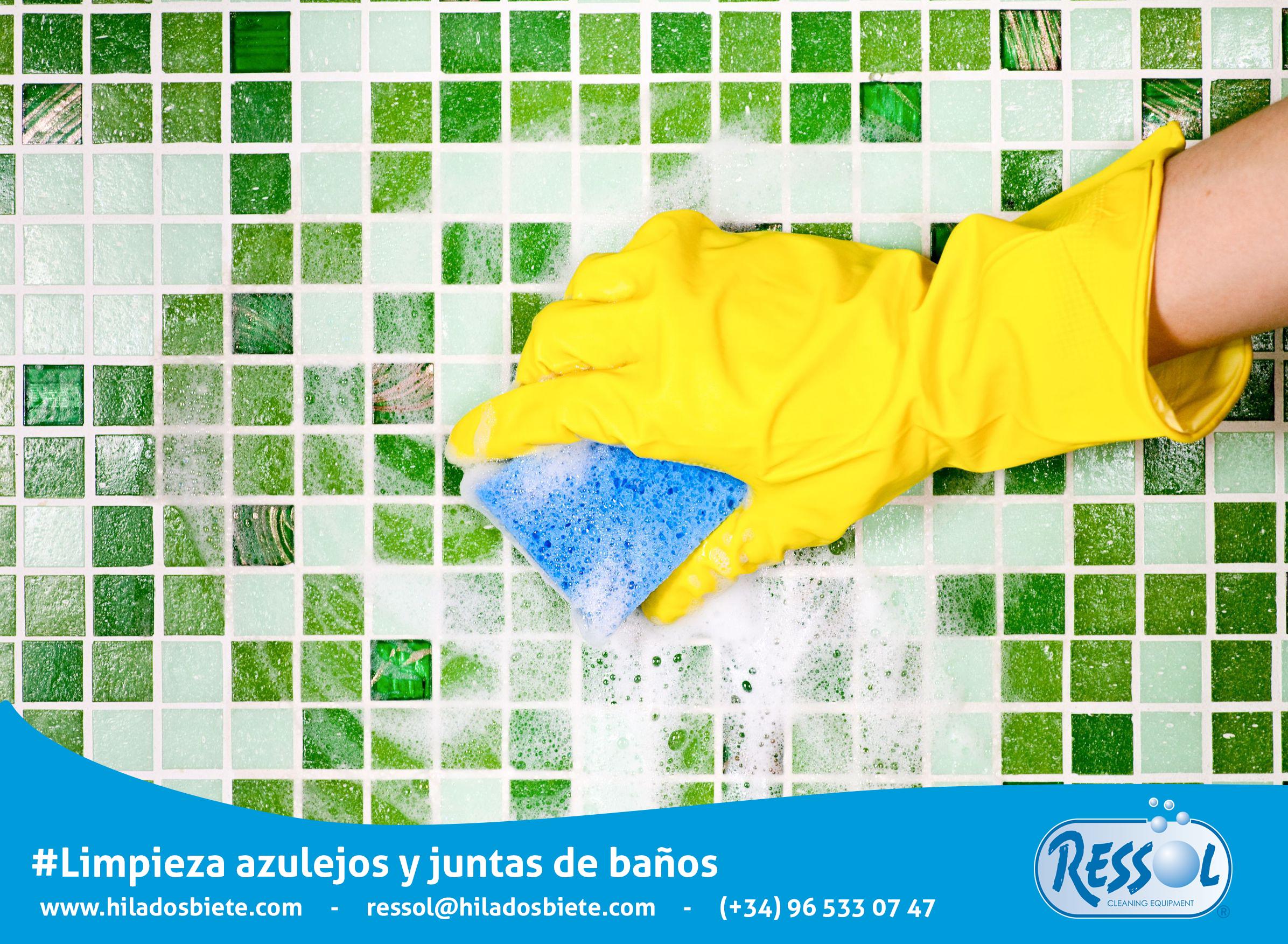 C mo limpiar azulejos y juntas de ba o eficazmente for Como limpiar juntas azulejos bano