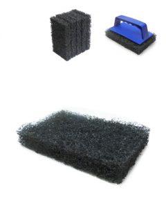 tampon abrasivo medium limpieza planchas cocinas