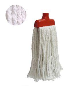 fregomopa industrial de algodón Blanco grueso