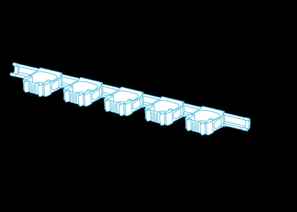 multicolgador para 5 palos