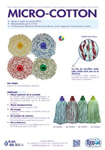 Fregona micro cotton RESSOL