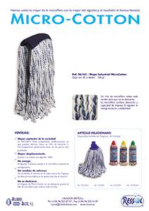 Mopa Industrial micro cotton RESSOL