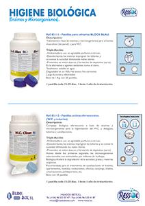 Pastillas Bloc Blau WC RESSOL