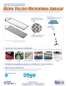 Recambio Velcro Microfibra abrasif RESSOL