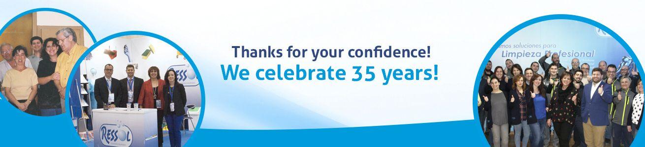 We celebrate 35 years