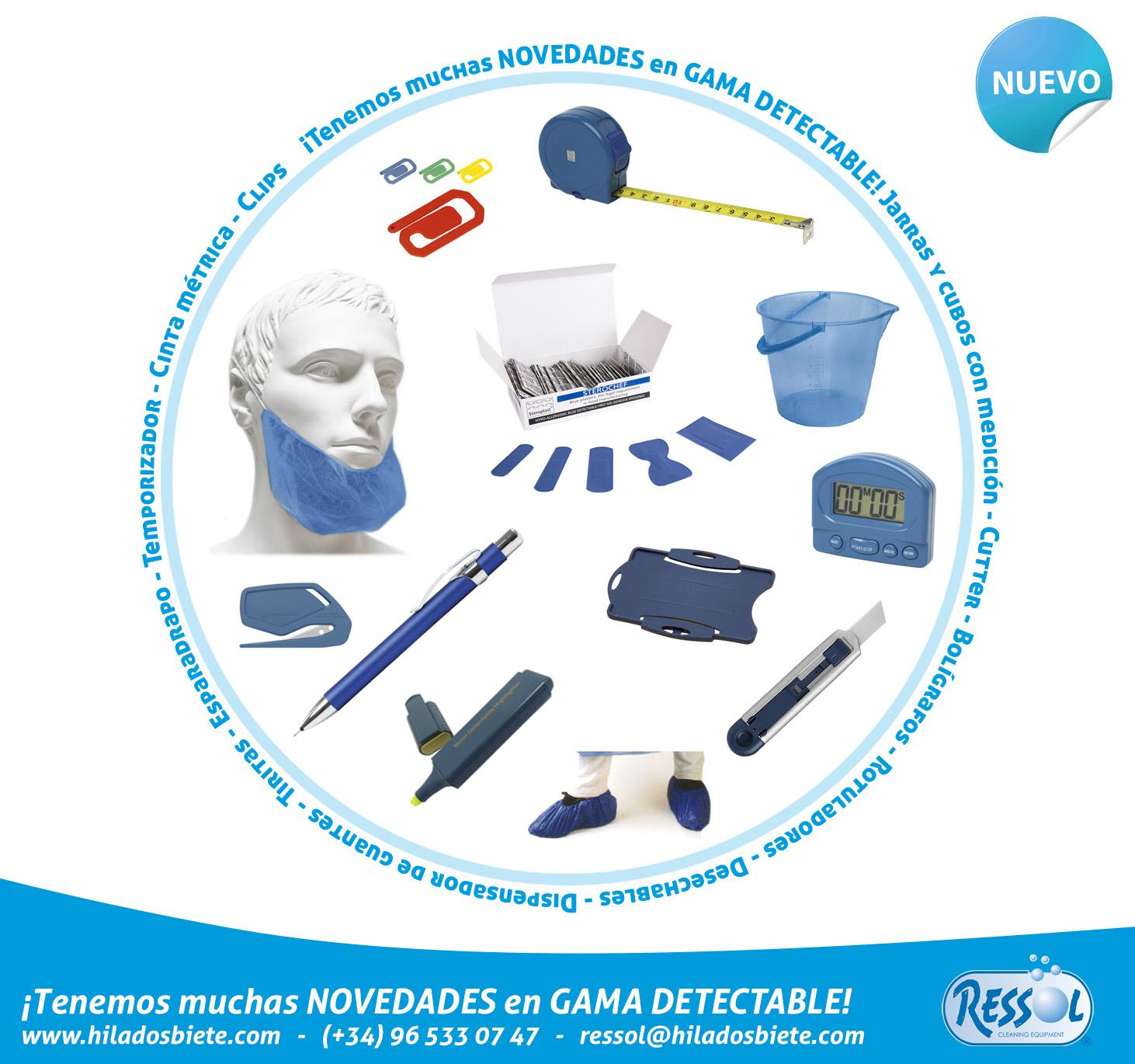 Novedades Gama Detectable